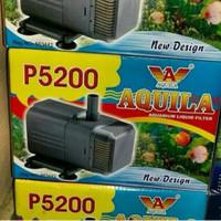 aquarium kolam ikan hias pompa celup water pump aquila p 5200
