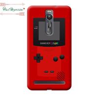 Custom Case Asus Zenfone 2  ( 5,5 Inch) motif Gameboy Color Red