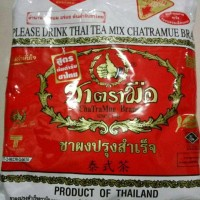 thai tea mix number one brand chatramue