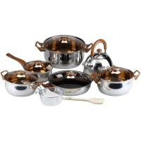 Oxone Basic Cookware Set OX-933 - Silver
