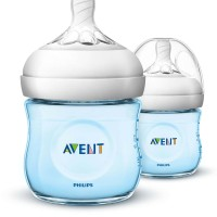 Avent SCF692/27 Natural Bottle Botol Susu 125 ml Blue - 2 Pcs - PMA260