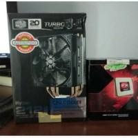 AMD FX-8320 Vishera 8-Core 3.5 GHz + HSF Cooler Master Hyper 212 EVO