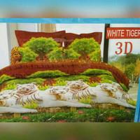 Sprei Bonita No.1 White Tiger 3D