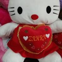 Boneka Hello kitty ABG + ukir nama