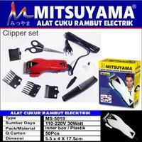 alat cukur rambut elektrik ms-5019 / happyking mitsuyama 5019