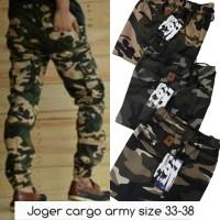 celana jeans distro joger cargo army no 27-32 cowok