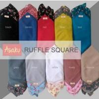 jilbab/hijab segiempat Ruffle Square