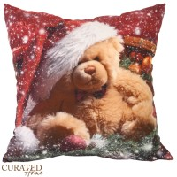 Curated Home SARUNG BANTAL NATAL - CHRISTMAS BEAR [45x45]