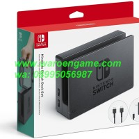 Nintendo Switch / NS / N Switch Dock Set (ORIGINAL Adaptor + HDMI)