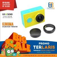 TERLARIS! ORIGINAL KingMa UV Lens Filter + Cover for Xiaomi Yi