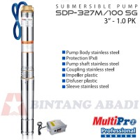 MultiPro Pompa Air Celup 1 PK / Submersible Pump - SDP-327M / 100 SG