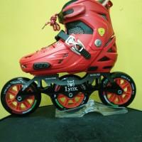 Inline skate Lynx SPH30 Red/sepatu roda Lynx speed Merah