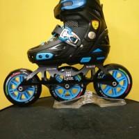 Inline Skate Lynx SPH30 Black/Sepatu Roda Lynx Speed Hitam
