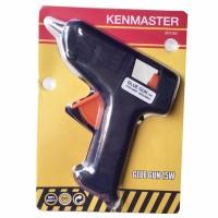 Kenmaster Glue Gun Listrik 15 Watt BONUS 2 pcs Isi Lem Tembak