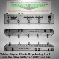 Efek Gitar Valeton Dapper 4 in 1 Effect Strip with Tuner OD Dist Delay
