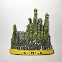 Souvenir Mancanegara Barcelona Gantungan Magnet Kulkas