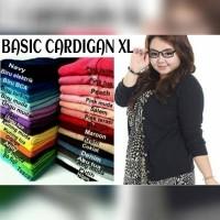 Cardigan Basic Rajut L-XL