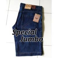 Celana Pendek Jeans/Pria/Wanita Jumbo Size HR 7868