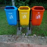 tempat sampah organik non organik B3