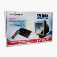 TV TUNER Advance PC TV BOX ATV-318B untuk TV tabung dan LED