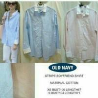 Old Navy Kemeja Boyfriend Shirt Jumbo XL,L,M,S
