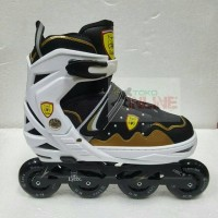 Sepatu Roda LYNX SC70 Recreational Inline Skate - Black Gold