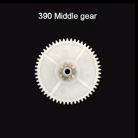 390 Type A Midle Gear Pliko/ Gearbox / Mobil Motor Mainan Aki