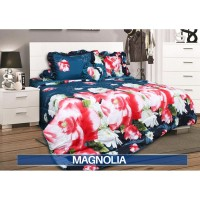 Sprei Rumbai King California motif Magnolia