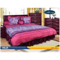 Sprei Rumbai King California motif Velia