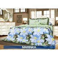 Sprei Rumbai King California motif Marinka