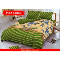 Sprei King Kintakun 3D Santika Deluxe / D'luxe Batik Pita Loka