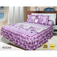Sprei Rumbai King California motif Rosan