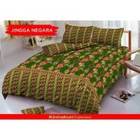 Sprei Queen Kintakun 3D Deluxe / D'luxe Batik Jingga Negara