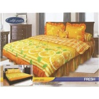 Sprei Rumbai King California motif Fresh