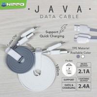 Hippo JAVA MICRO USB 100 cm kabel data charger xiaomi samsung Asus bb