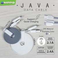 Hippo JAVA MICRO USB 180 cm kabel data charger xiaomi samsung Asus bb