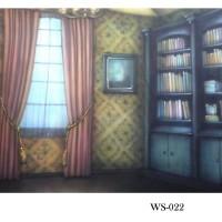 Background Foto Wisuda / Rak Buku WS-022 Studio Photo