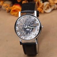 Jam tangan antik klasik unik skeleton Model swatch seiko Fossil