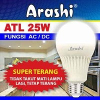 Lampu LED emergency Arashi 25 watt 25w