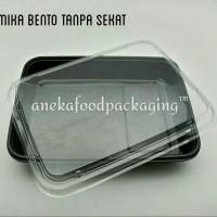 Mika/box/tray/kotak bento tanpa sekat+tutup