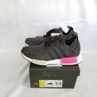 Sepatu Adidas NMD R1 Primeknit Pink Original