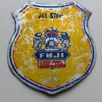 Emblem sepeda Jepang Fuji warna kuning totokan peneng