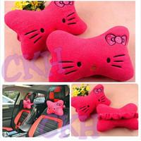 headrest hello kitty / bantal mobil hello kitty