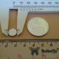N52 Uk 10x3 mm Magnet Super Strong / Kuat Neodymium 10x3 mm Bulat Coin