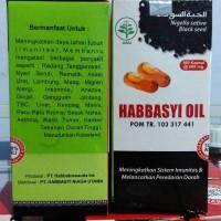 Habbasyi Oil Minyak Habbatusauda isi 100 (Kapsul Minyak Jinten Hitam)