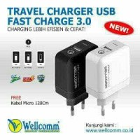 Fast Charger 3.0 USB Wellcomm