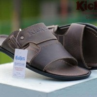 SANDAL CASUAL PRIA KICKERS BRIDGE CONCEPT GENUINE LEATHER