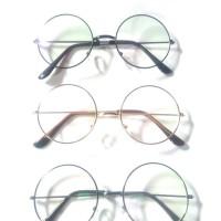 Kacamata Bulat Pria dan Wanita, Kacamata Korea, Kacamata Besi
