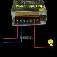 adaptor 12v 10A psu ac matic swicting power suply murah