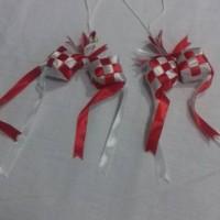 bendera ketupat merah putih | aksesoris marchandise dan ulang tahun